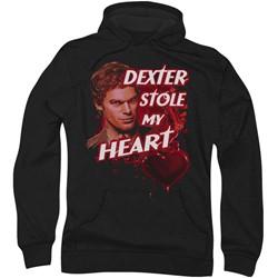 Dexter - Mens Bloody Heart Hoodie