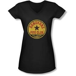 Ray Donovan - Juniors Fite Club V-Neck T-Shirt