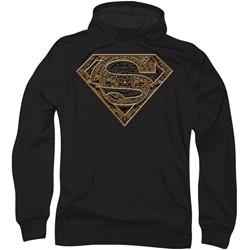 Superman - Mens Aztec Shield Hoodie