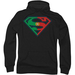 Superman - Mens Portugal Shield Hoodie