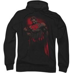 Superman - Mens Red Son Hoodie