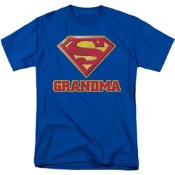 Superman - Mens Super Grandma T-Shirt