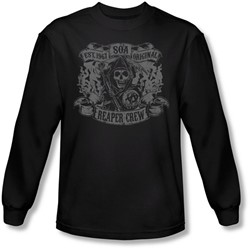 Sons Of Anarchy - Mens Original Reaper Crew Longsleeve T-Shirt