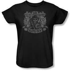Sons Of Anarchy - Womens Original Reaper Crew T-Shirt