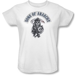 Sons Of Anarchy - Womens Bloody Sickle T-Shirt