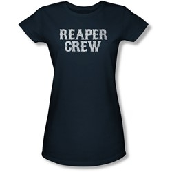 Sons Of Anarchy - Juniors Reaper Crew Sheer T-Shirt