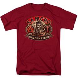 Sons Of Anarchy - Mens Men Of Mayhem T-Shirt