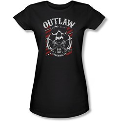 Sons Of Anarchy - Juniors Outlaw Sheer T-Shirt