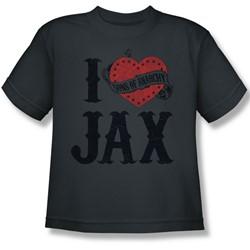 Sons Of Anarchy - Big Boys I Heart Jax T-Shirt