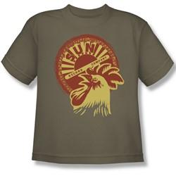 Sun Records - Good Morning! Big Boys T-Shirt In Safari Green