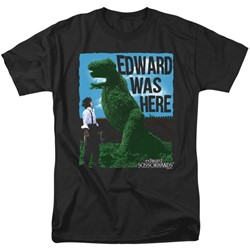 Edward Scissorhands - Mens Edward Was Here T-Shirt