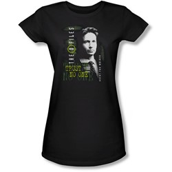 X-Files - Juniors Mulder Sheer T-Shirt