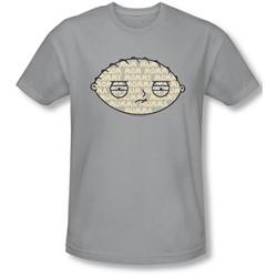 Family Guy - Mens Mom Mom Mom Slim Fit T-Shirt