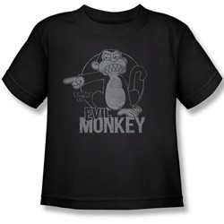 Family Guy - Little Boys Evil Monkey T-Shirt