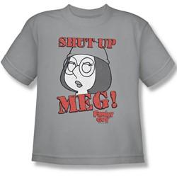 Family Guy - Big Boys Shut Up Meg T-Shirt