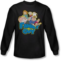 Family Guy - Mens Family Fight Longsleeve T-Shirt