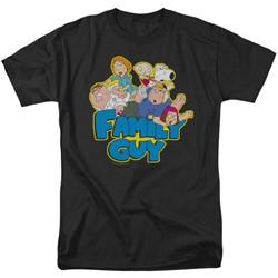 Family Guy - Mens Family Fight T-Shirt
