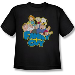 Family Guy - Big Boys Family Fight T-Shirt