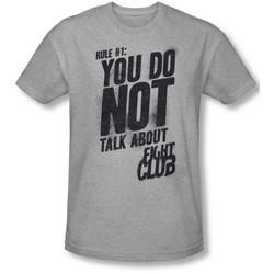 Fight Club - Mens Rule 1 Slim Fit T-Shirt