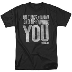 Fight Club - Mens Owning You T-Shirt