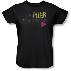 Fight Club - Womens In Tyler We Trust T-Shirt