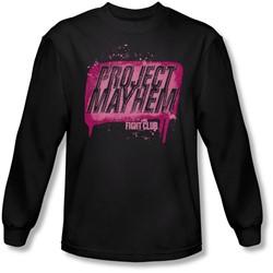 Fight Club - Mens Project Mayhem Longsleeve T-Shirt