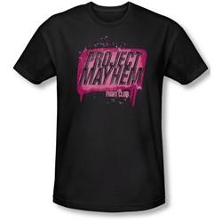 Fight Club - Mens Project Mayhem Slim Fit T-Shirt