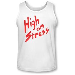 Revenge Of The Nerds - Mens High On Stress Tank-Top
