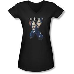 X-Files - Juniors X Agents V-Neck T-Shirt