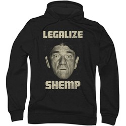 Three Stooges - Mens Legalize Shemp Hoodie