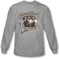Three Stooges - Mens Fresh Fish Longsleeve T-Shirt