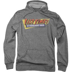 Fast Times Ridgemont High - Mens Distressed Logo Hoodie