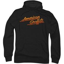 American Grafitti - Mens Neon Logo Hoodie
