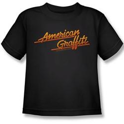 American Grafitti - Little Boys Neon Logo T-Shirt