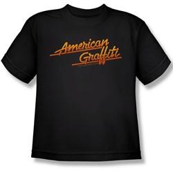 American Grafitti - Big Boys Neon Logo T-Shirt