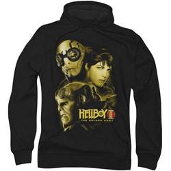 Hellboy Ii - Mens Ungodly Creatures Hoodie