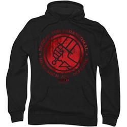 Hellboy Ii - Mens Bprd Logo Hoodie