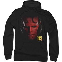 Hellboy Ii - Mens Hellboy Head Hoodie
