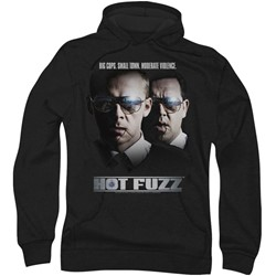 Hot Fuzz - Mens Big Cops Hoodie