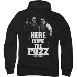 Hot Fuzz - Mens Here Come The Fuzz Hoodie
