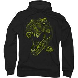 Jurassic Park - Mens Rex Mount Hoodie