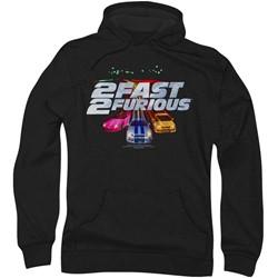 2 Fast 2 Furious - Mens Logo Hoodie