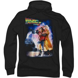 Back To The Future Ii - Mens Poster Hoodie