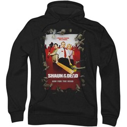Shaun Of The Dead - Mens Poster Hoodie