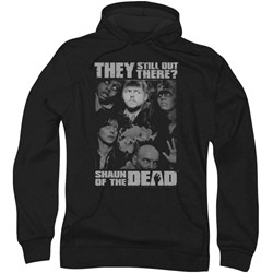 Shaun Of The Dead - Mens Still Out There Hoodie
