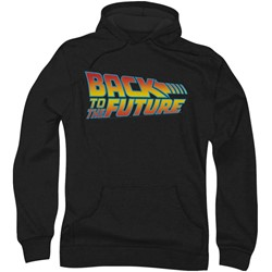 Back To The Future - Mens Logo Hoodie