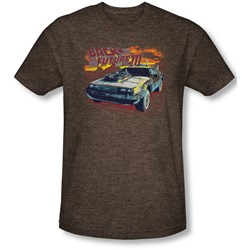 Back To The Future Iii - Mens Wild West Fitted T-Shirt