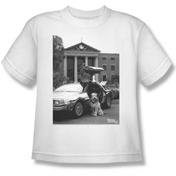 Back To The Future Ii - Big Boys Einstein T-Shirt
