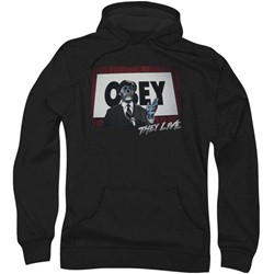 They Live - Mens Obey Hoodie