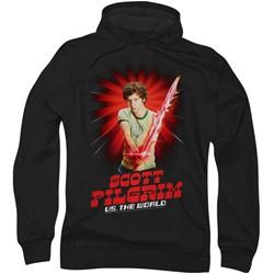 Scott Pilgrim - Mens Super Sword Hoodie